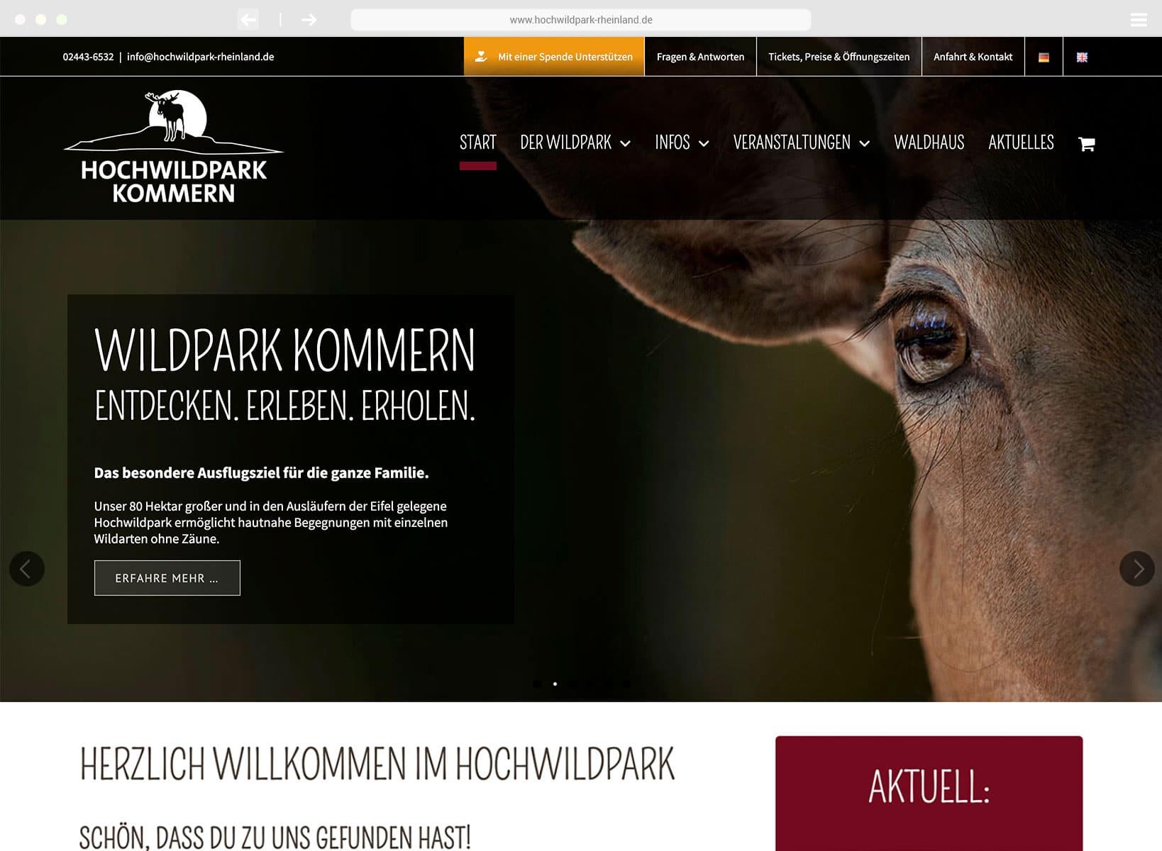 www.hochwildpark-rheinland.de
