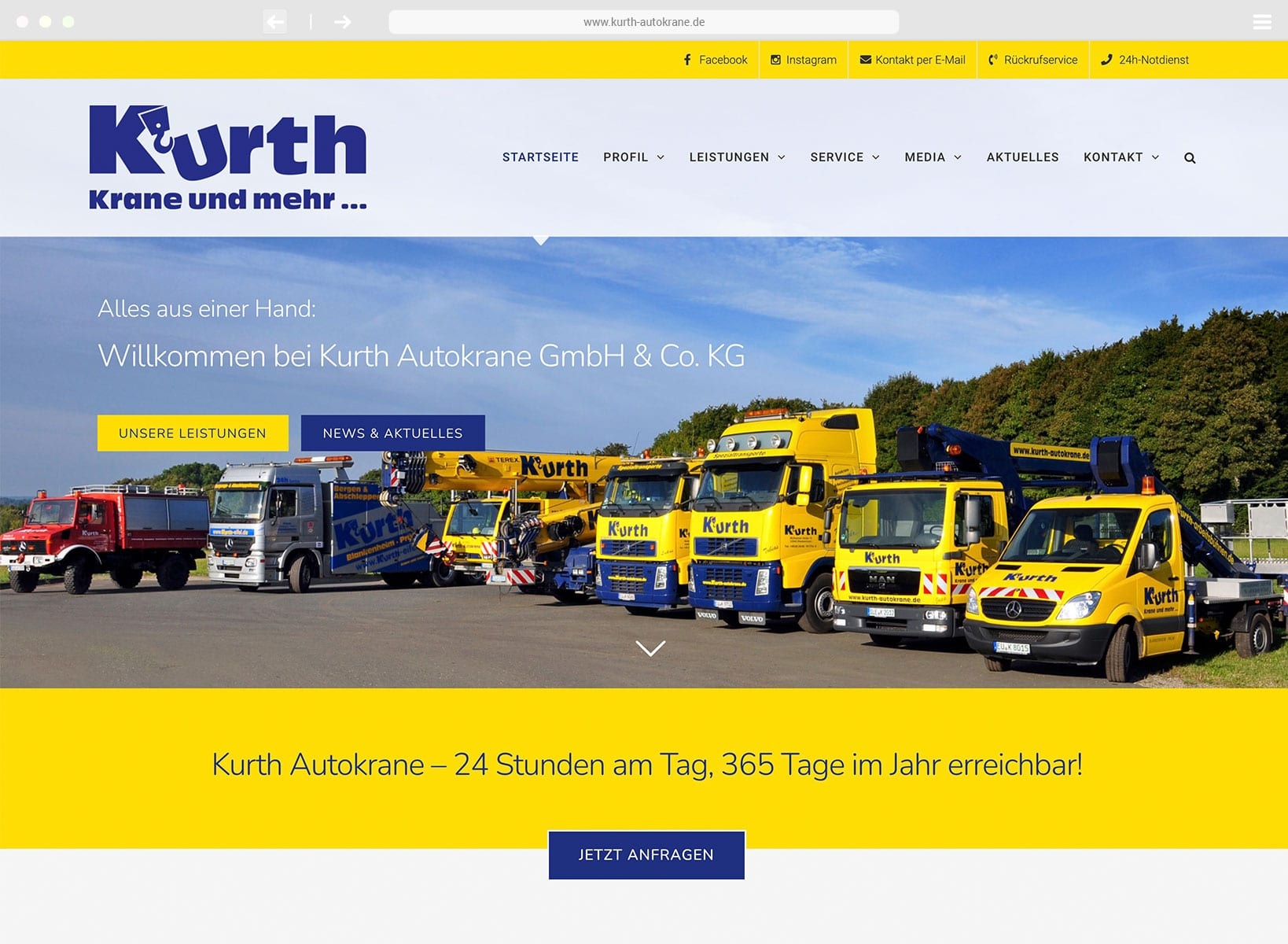 www.kurth-autokrane.de