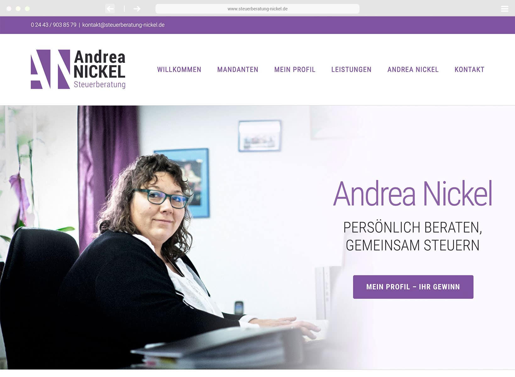 www.steuerberatung-nickel.de